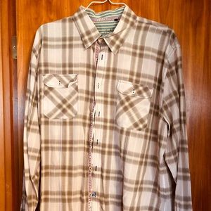 Men's Brown Plaid Arnold Zimberg Shirt